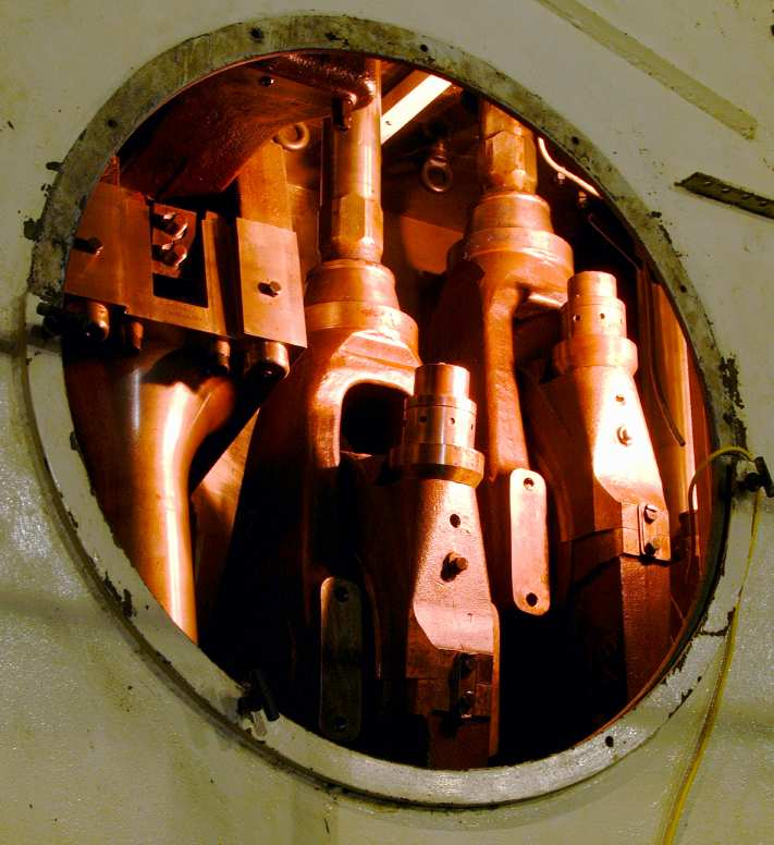 Inside the engine