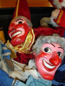 The stars of the show: Punch and Judy