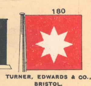 Turner Edwards house flag'