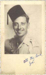 Joseph Cunningham in North Africa during the Second World War