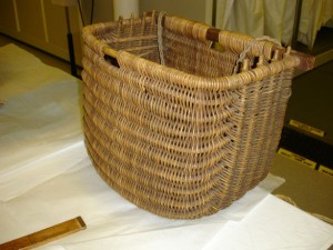 A replica creel in the museums' collection