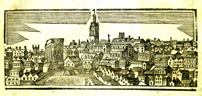 Image from: Henry Bourne's The history of Newcastle upon Tyne, Newcastle upon Tyne, 1736.