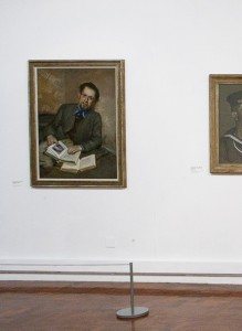 Kurt Schwitters' portrait of Fred Uhlman on display at the Hatton Gallery (until Feb 19th 2011)