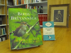 Birds Britannica by Mark Cocker and Richard Mabey, Chatto & Windus, 2005 ; Watching birds by James Fisher, Penguin, 1941 ; Photograph of John Hancock (courtesy of the Natural History Society of Northumbria)