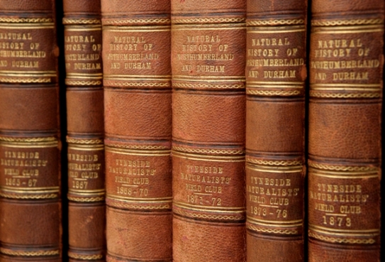 Early volumes of the Transactions of the Natural History Society (published since 1831)