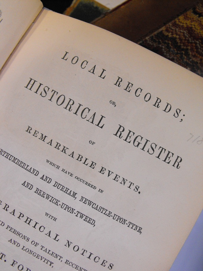 Title page detail