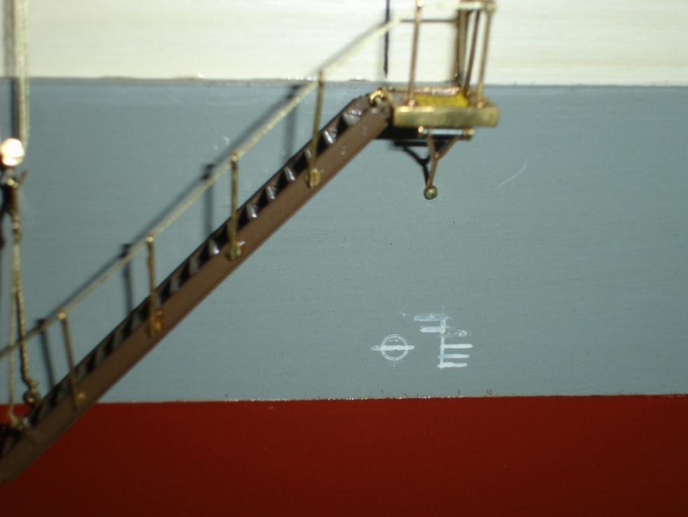 Close up of Plimsoll Line