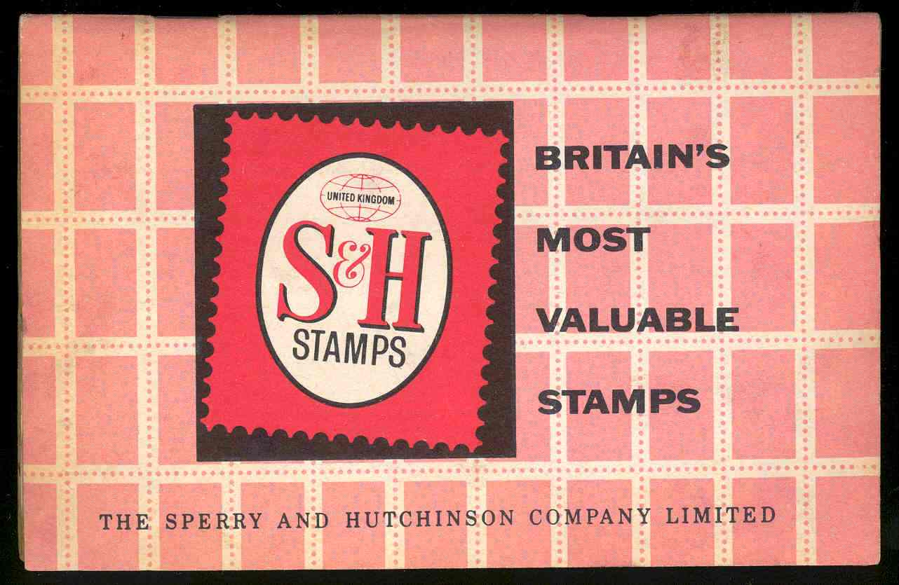 S&H 'Pink Stamps' booklet, 1963. TWCMS : 2000.3030.4