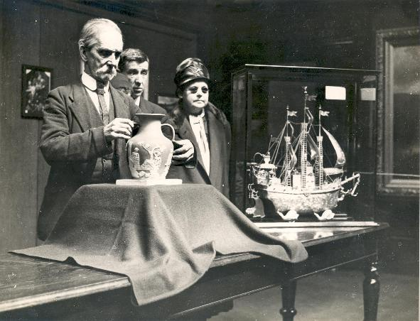 Blind Adults at Sunderland Museum