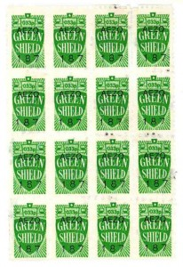 Green Shield Stamps dating to about the 1970s. TWCMS : 2011.1365
