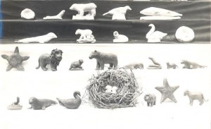 Clay Models made by the blind