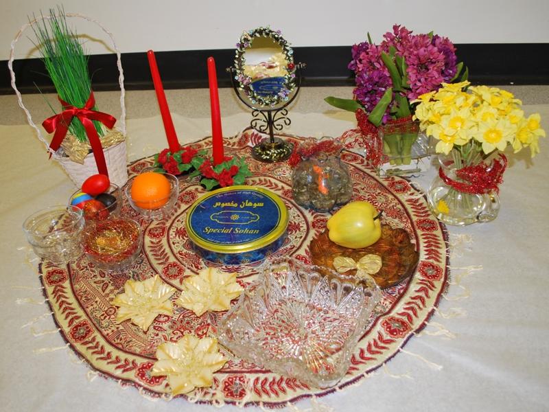 Nowruz decorations