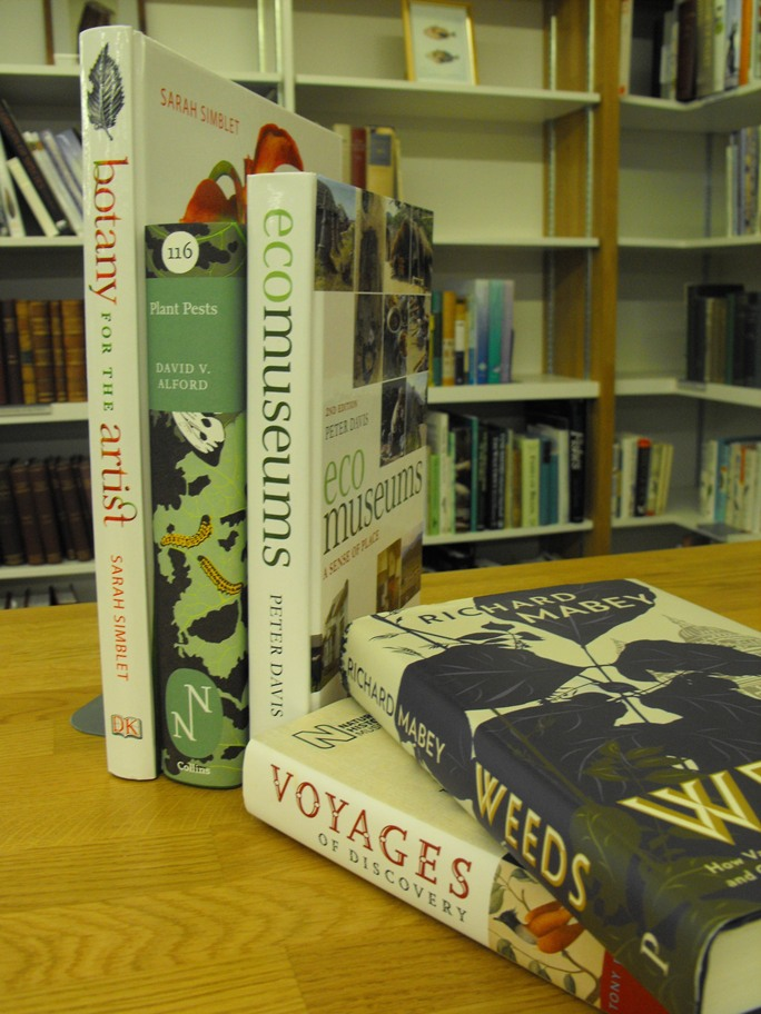 New books from the Natural History Society of Northumbria's collection