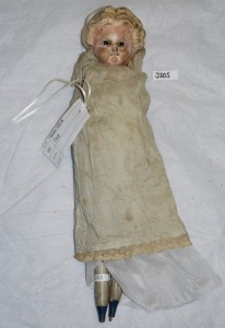 Working class doll c. 1860