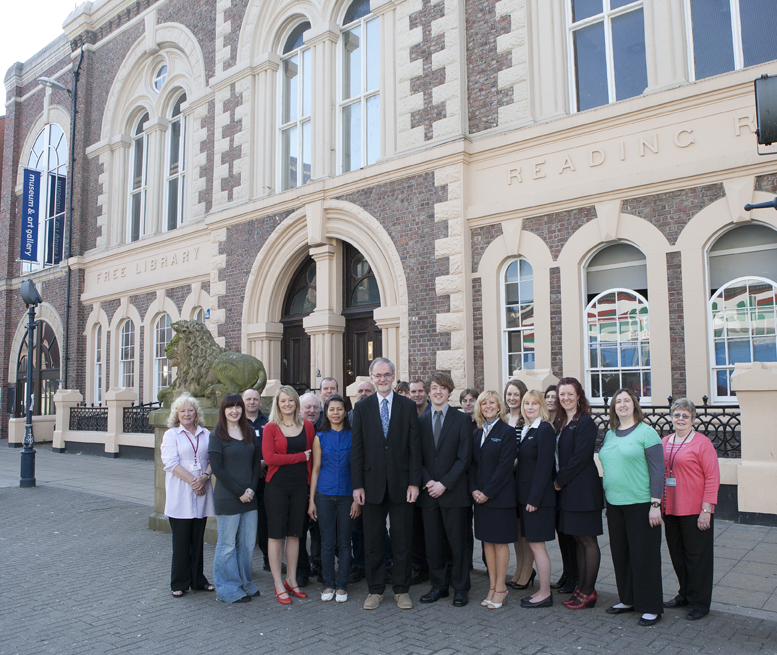 South Shields Museum staff and volunteers