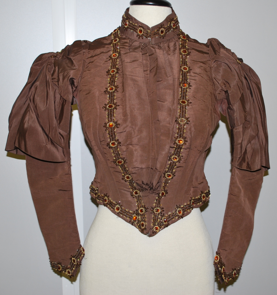 Wedding suit jacket c.1880s