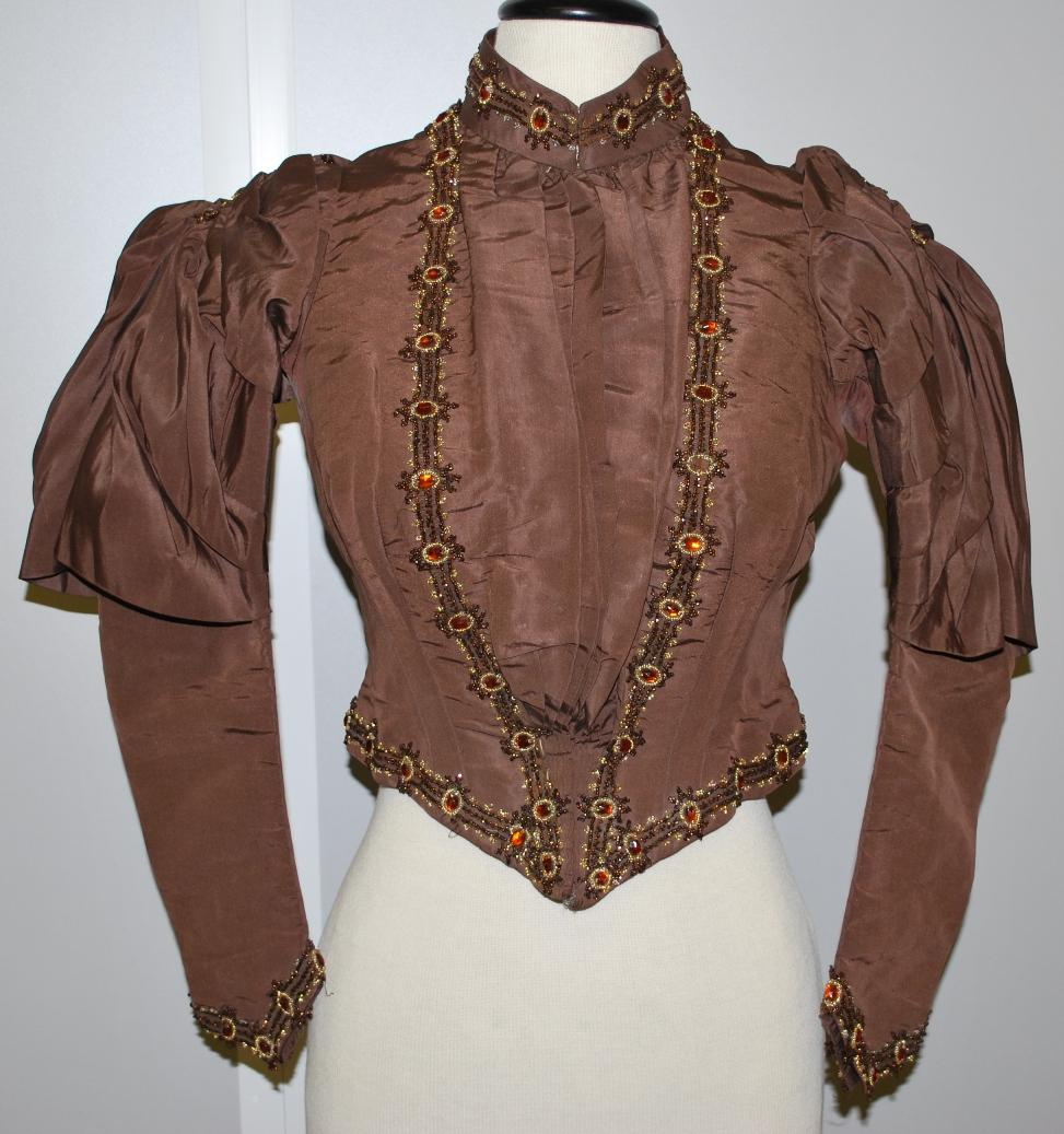 Wedding suit jacket c.1880s