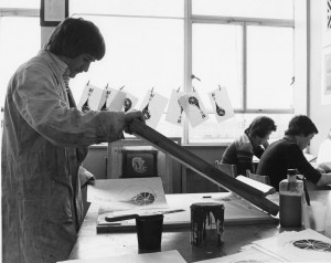 The art studio at South Shields Marine and Technical College