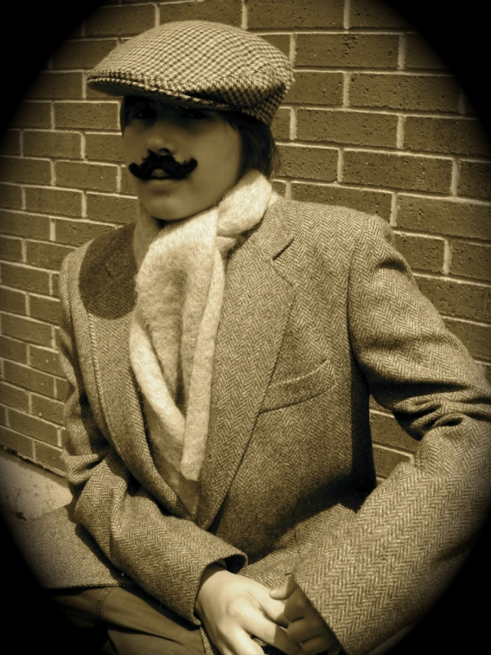 Student, posing as Victorian Criminal, United States
