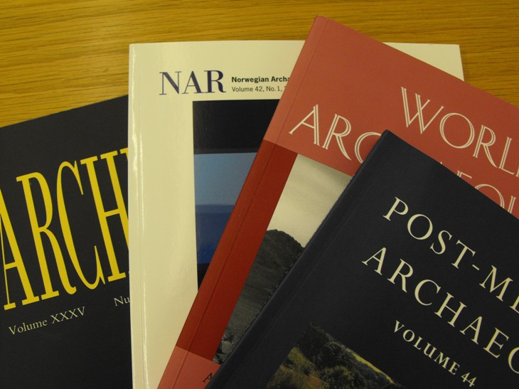 Journals from the Society of Antiquaries' Library