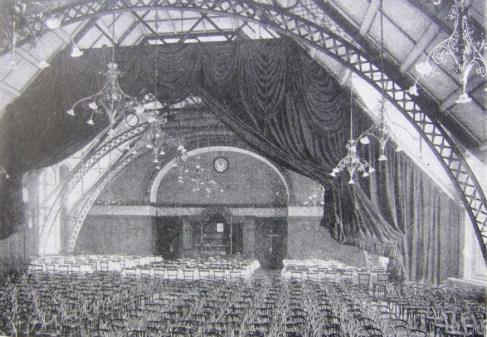 The great hall in 1901 © National Co-operative Archive