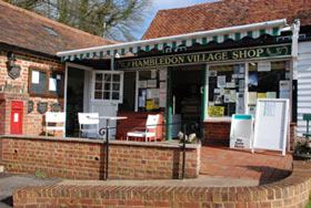 This community-run village shop in Surrey is owned by a descendant of John Buddle