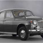 This is the Rover P4 that will be on display inside the Covered Carriage Truck. It is coming to us on longterm loan from the National Motor Museum in Hampshire.