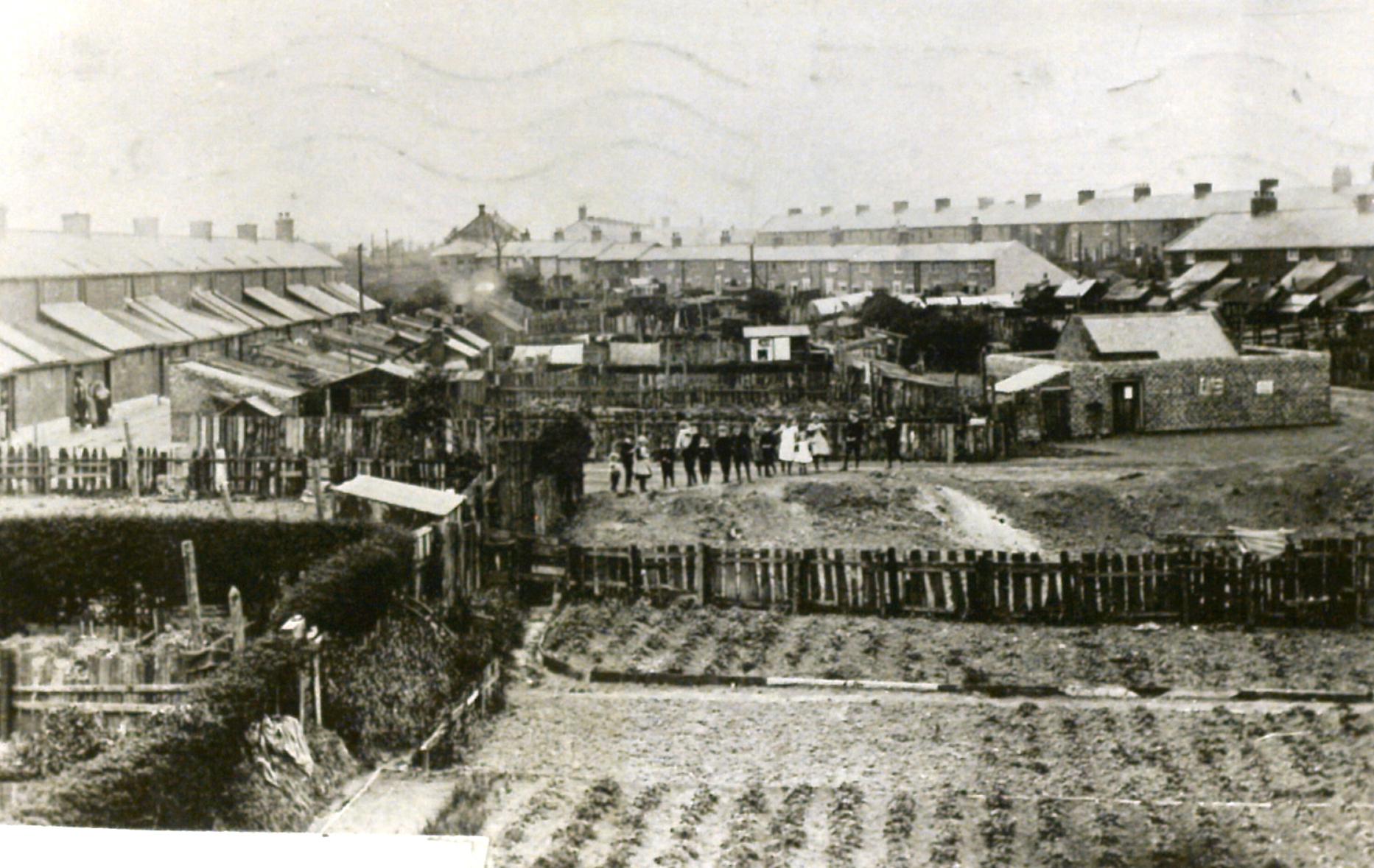 Seaton Burn about 1910