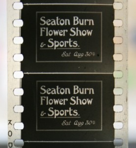 Seaton Burn Flower Show film title