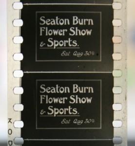 Seaton Burn Flower Show film title