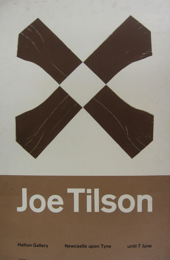 Joe Tilson poster produced by Kelpra Studio