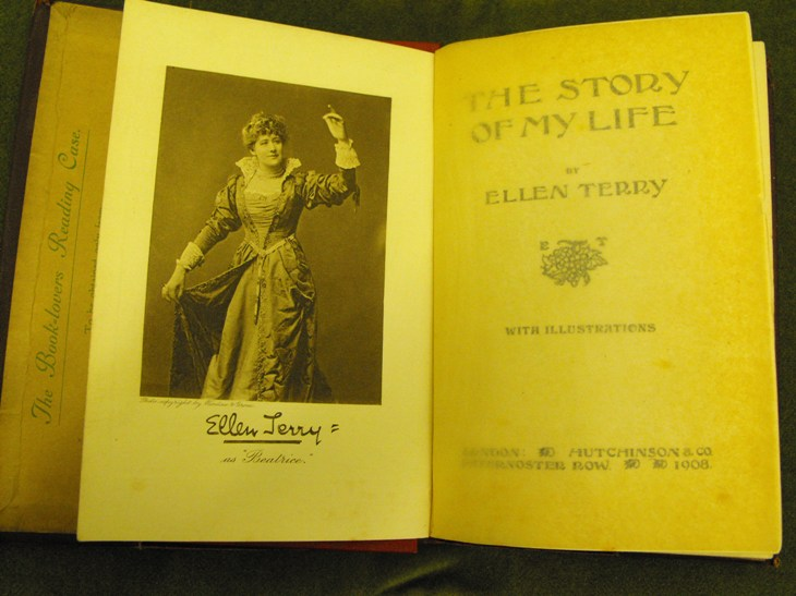 'The Story of My Life' by Ellen Terry