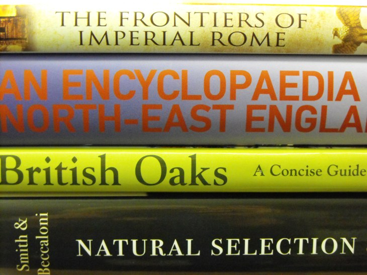 New books in the GNM Library