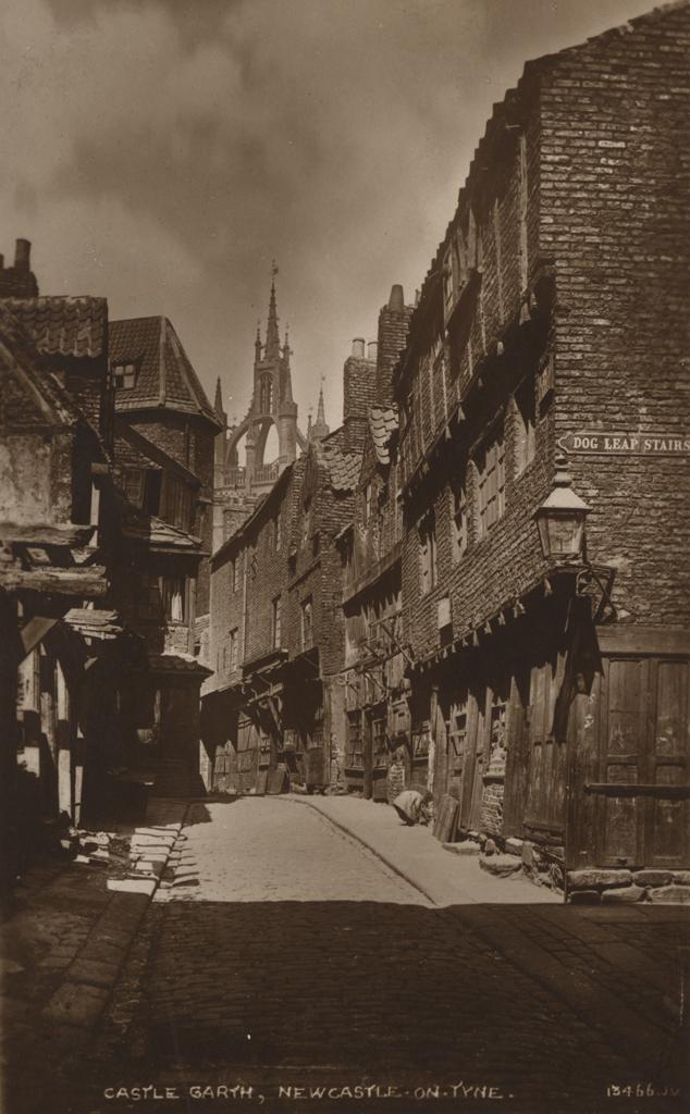 Castle Garth in 1884, © Newcastle City Library