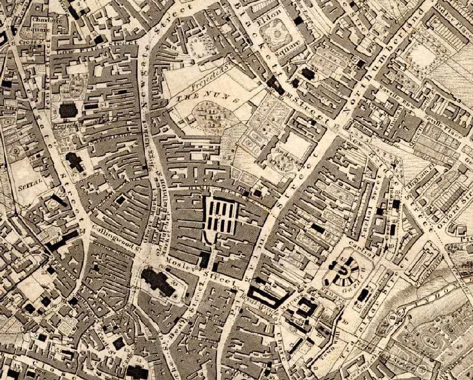 Newcastle upon Tyne Map 1833  No place like home  Pinterest