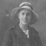 Sally Holmes, injured whilst on duty as the conductress on Tram 10, Sunderland Corporation Tramways.