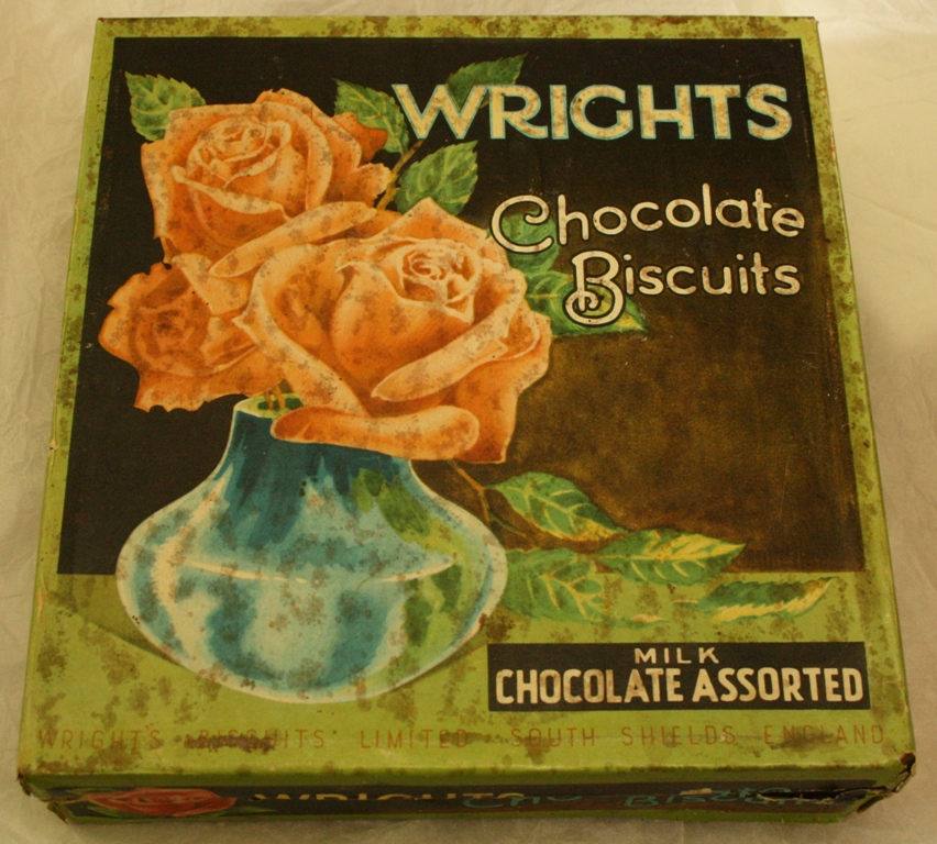 Wright's Biscuits Milk Chocolate Assorted tin