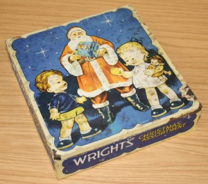 Wright's Christmas Assortment tin