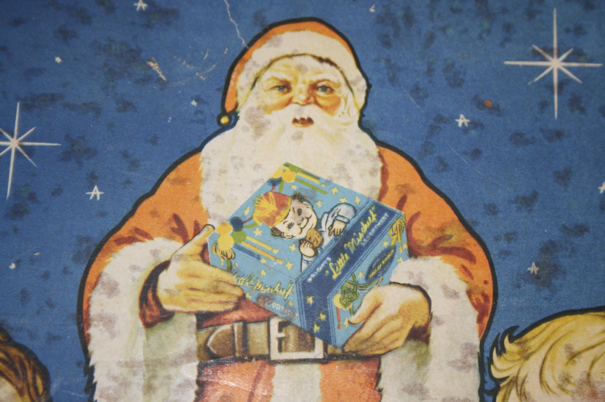 Wright's Christmas Assortment tin