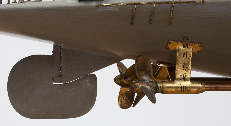 Propellers, stern bracket and rudder