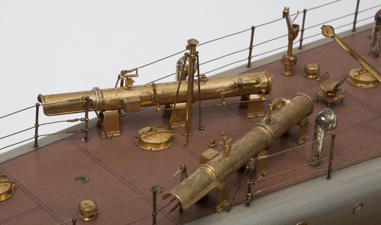 14 inch torpedo tubes facing aft
