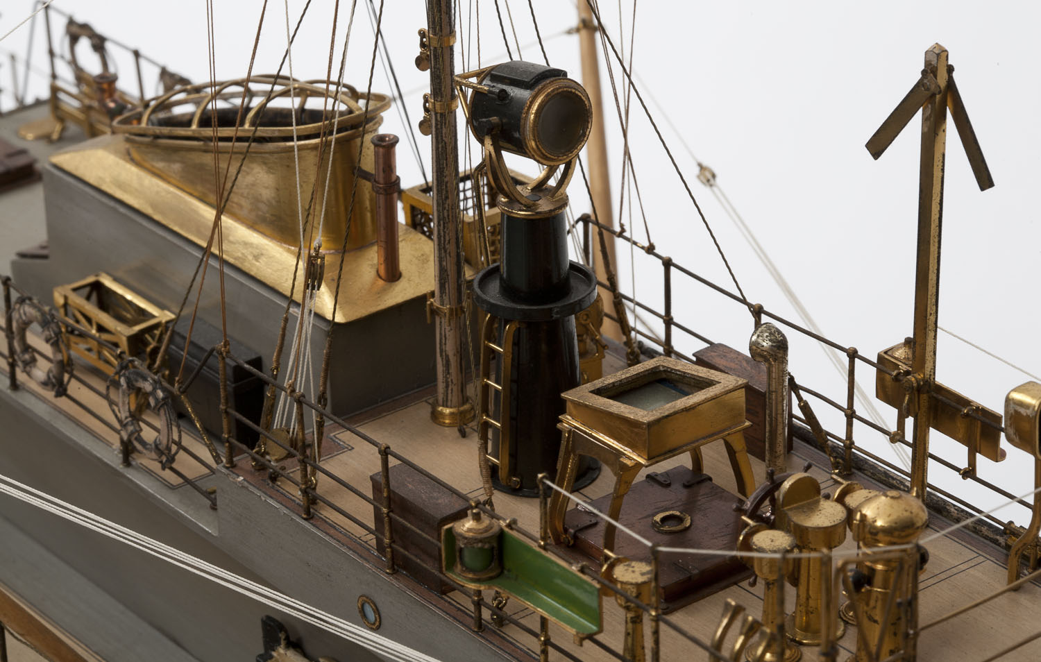 Detail of the model of P23
