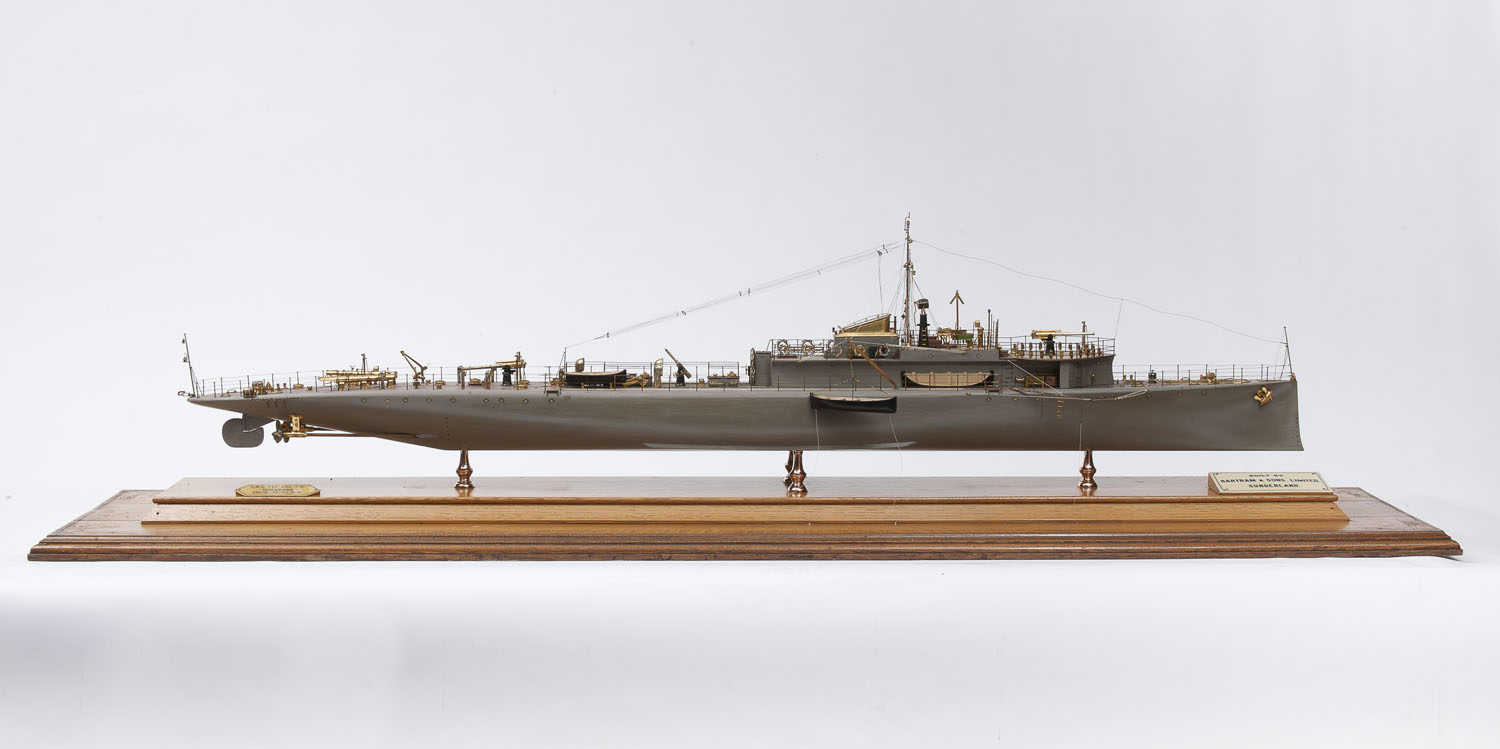 P boats of the First World War – William Bartram and P23 | Tyne & Wear Archives & Museums Blog