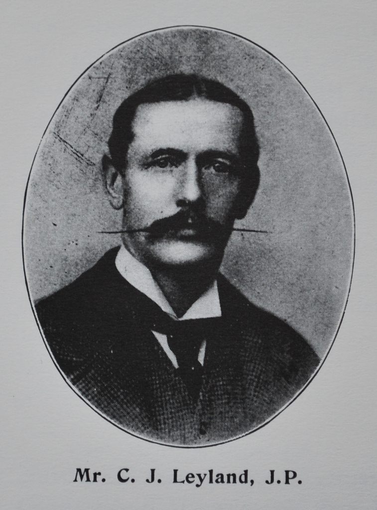 Christopher Leyland pictured in the same 1905 publication of short biographies