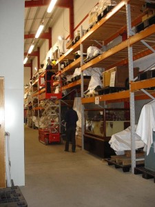 Storage at the Regional Museums Store
