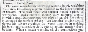 Extract from the Newcastle Weekly Chronicle of 2nd August 1884