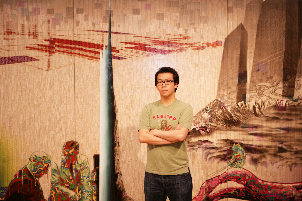 Gordon Cheung at the Laing