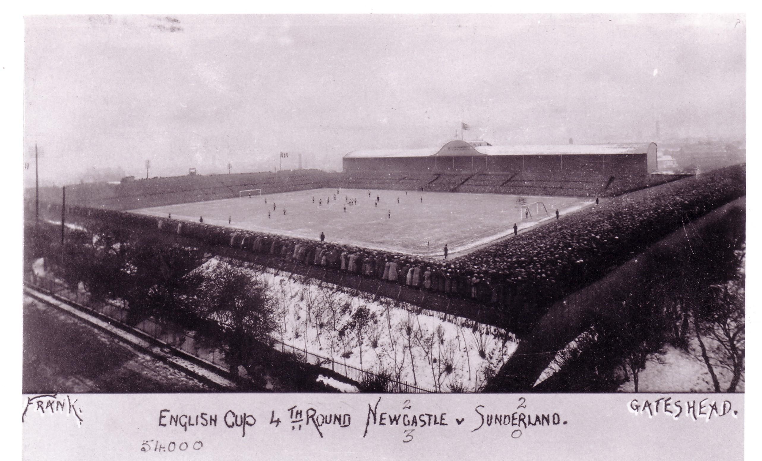 St James' Park, 1913