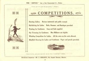 Programme for Grand Bazaar and Dutch Fair, United Methodist Church, Whitley Bay, 16-18 March 1910 (TWAM ref. C.WB1/37/3)