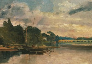 JMW Turner : The Thames Near Walton Bridges, 1805 (detail) © Tate 2013